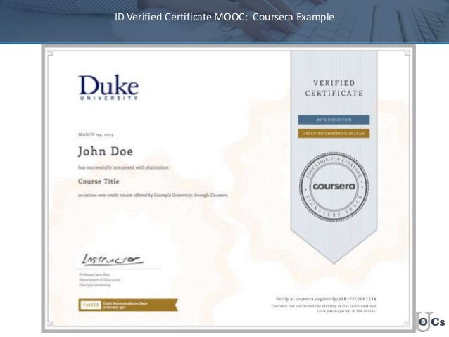 id verified certificate mooc coursera example