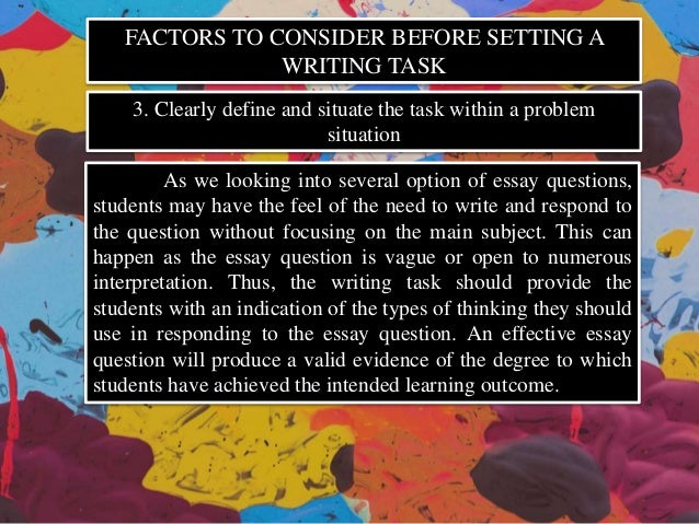 describe the factors to consider essay There are numerous factors that may make a person more suseptable to abuse we will write a custom essay sample on describe factors that may contribute to an individual being vulnerable to abuse.