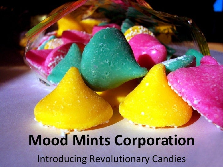 Mood Mints Corporation Introducing Revolutionary Candies