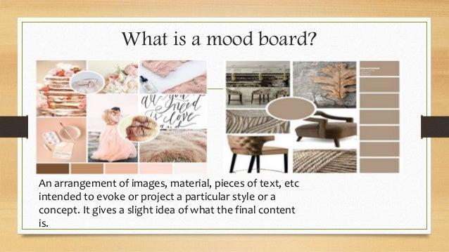 Mood Board And Inspiration Board