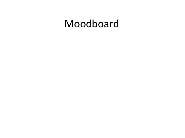 Moodboard<br />