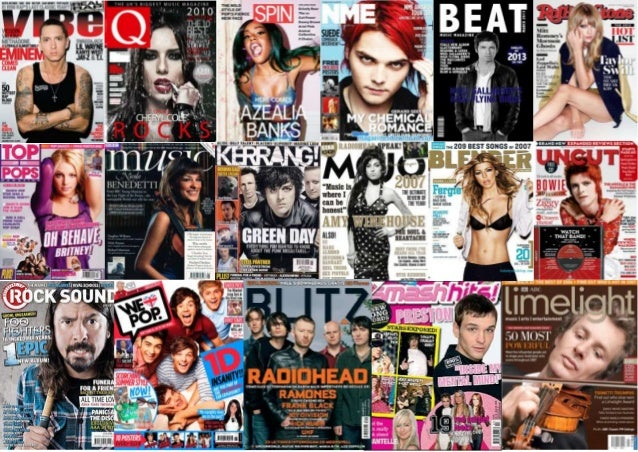 Moodboard music magazine