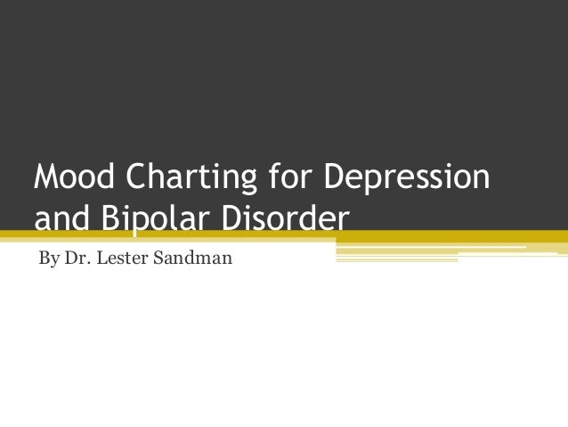 Mood Charting for Depression and Bipolar Disorder By Dr. Lester Sandman