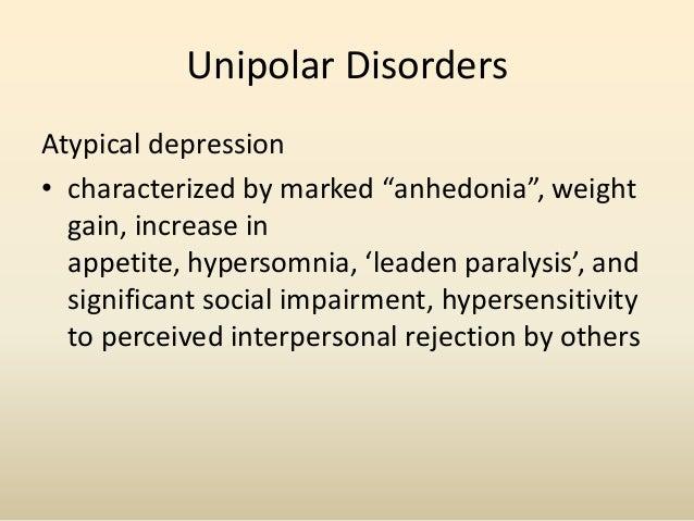 Bipolar Disorder• ManiaElevated MoodInflated Self-esteem or grandiosityDecreased need for sleepExcessive talkatingRacing t...