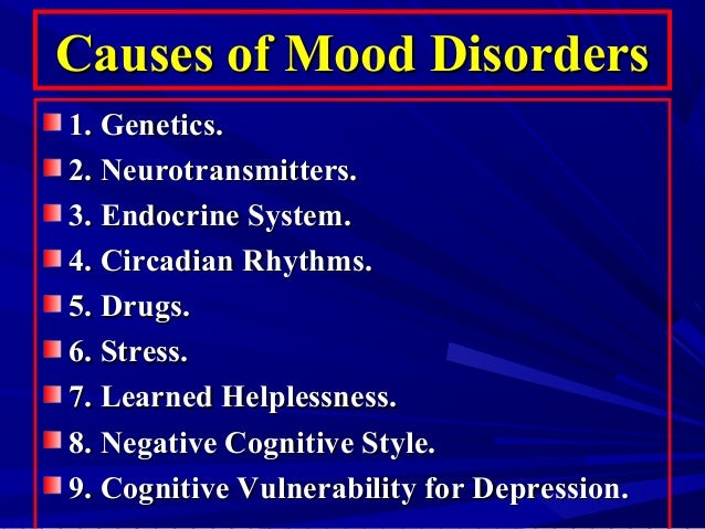mood disorders Looking for online definition of mood disorders in the medical dictionary mood disorders explanation free what is mood disorders meaning of mood disorders medical term what does mood disorders mean.