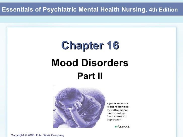 Chapter 16 Mood Disorders Part II