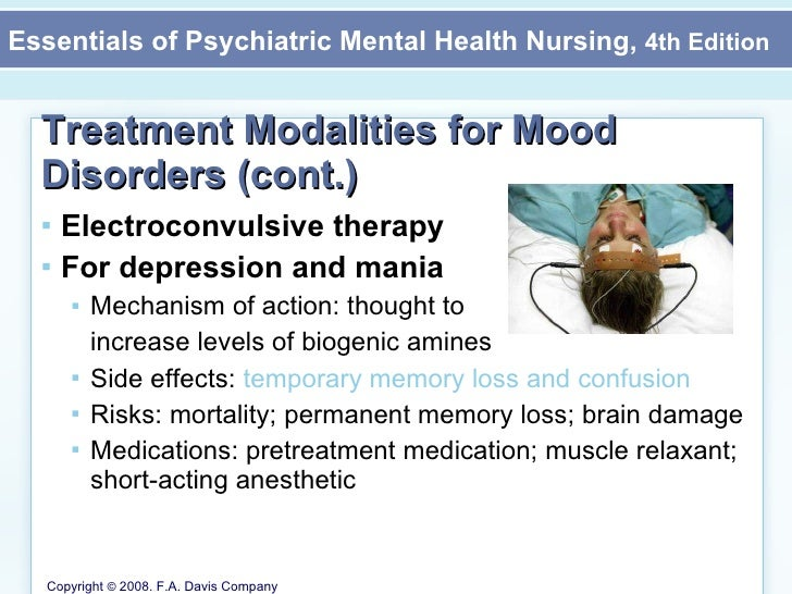 Mood Disorders Mental Health Nursing Chapter 16 Part Ii