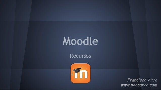 Moodle Recursos