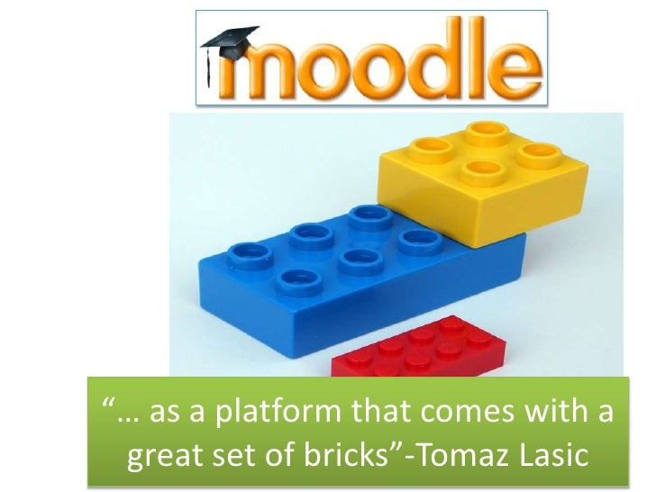 """… as a platform that comes with a great set of bricks""-Tomaz Lasic"