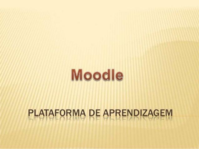 PLATAFORMA DE APRENDIZAGEM