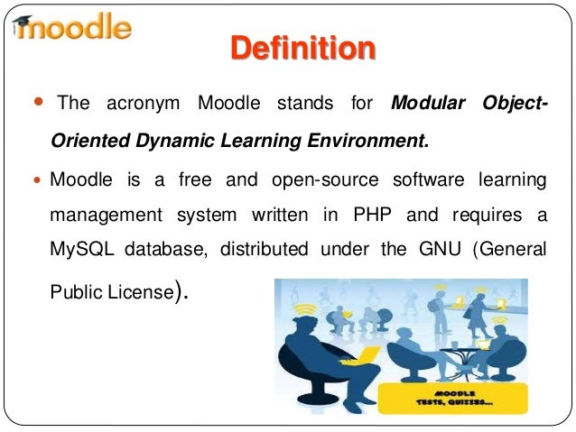 Definition Modular Classroom ~ Moodle