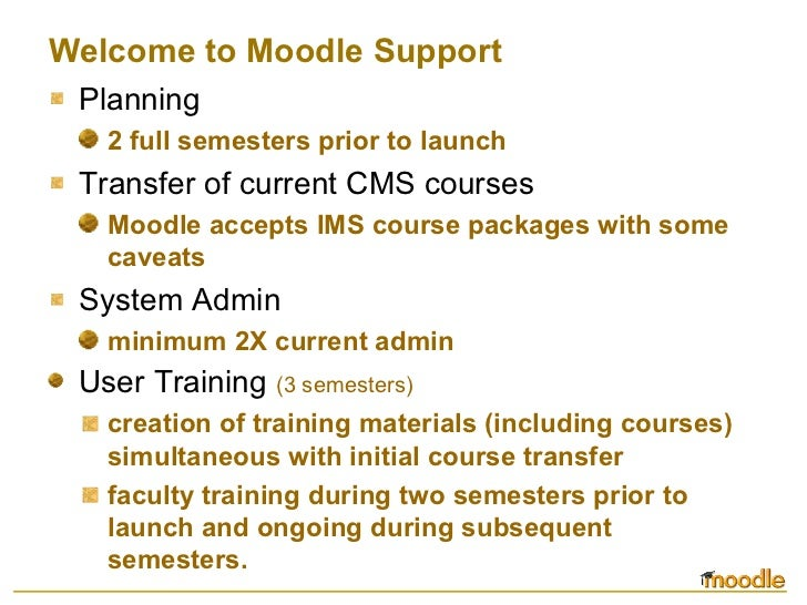 Moodle: a free learning management system slideshare - 웹