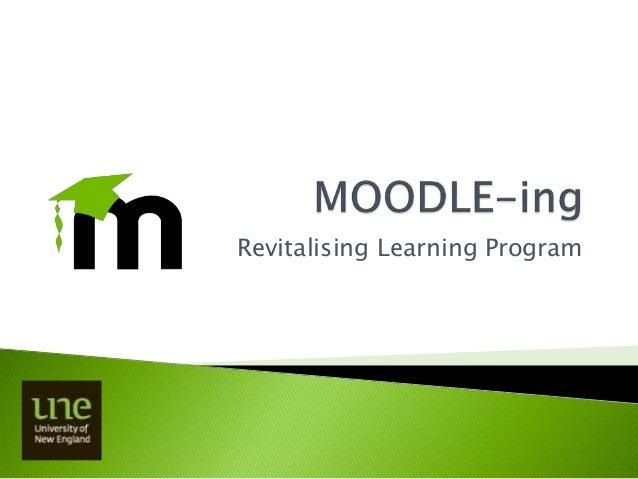 Revitalising Learning Program
