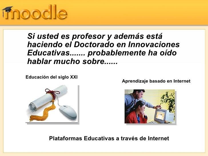 Moodle Presentaci Slide 2