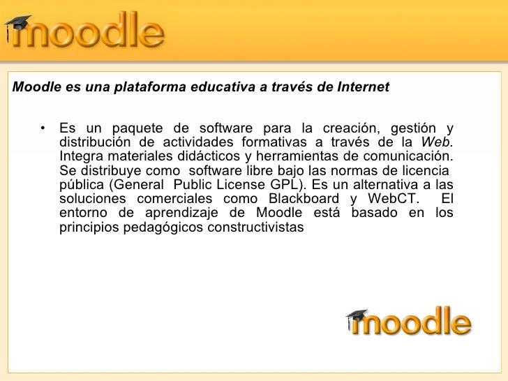 Moodle Presentaci Slide 3
