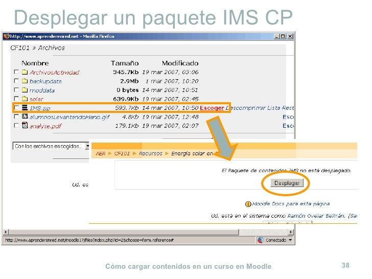 Desplegar un paquete IMS CP