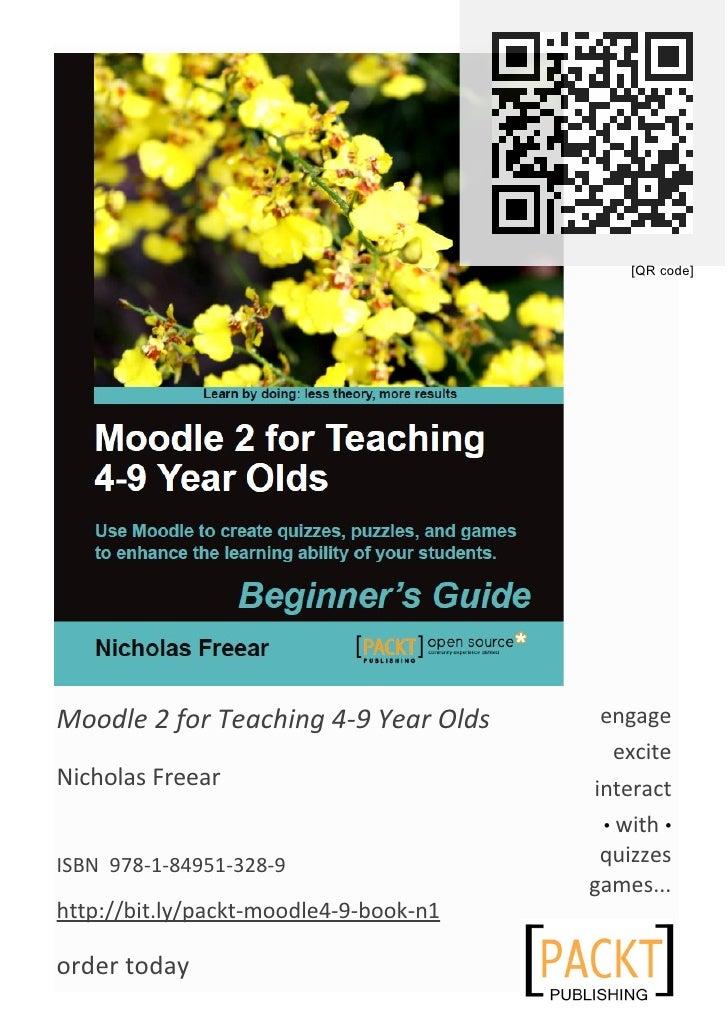 Moodle 4-9 Book A5 leaflet Packt v1