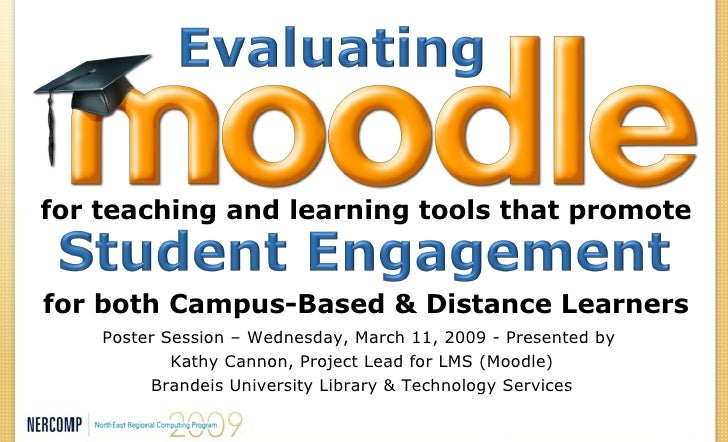for teaching and learning tools that promote for both Campus-Based & Distance Learners Poster Session – Wednesday, March 1...