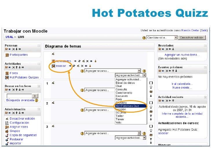 Hot Potatoes Quizz