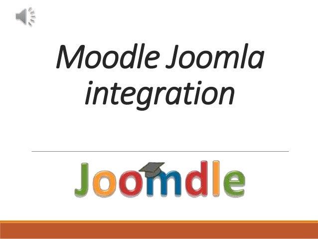Moodle Joomla integration