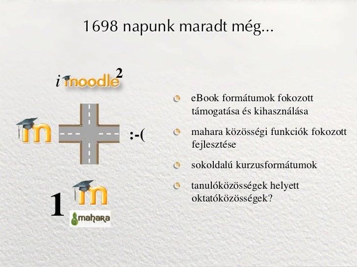 1698 napunk maradt még...        2i                  eBook formátumok fokozott                  támogatása és kihasználása...
