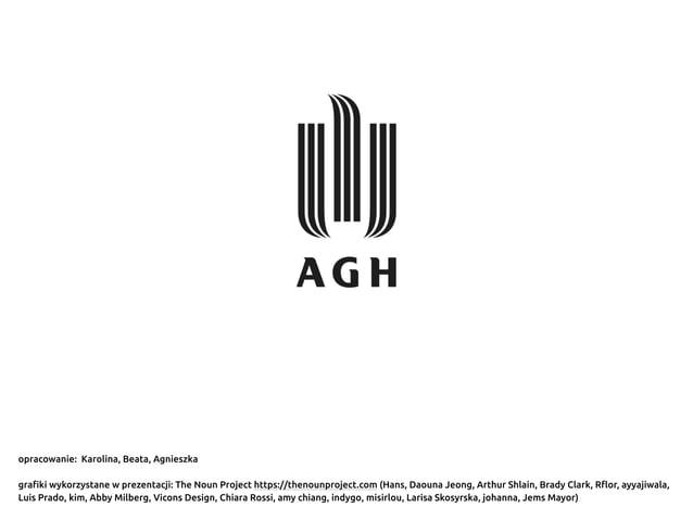 opracowanie: Karolina, Beata, Agnieszka grafiki wykorzystane w prezentacji: The Noun Project https://thenounproject.com (H...