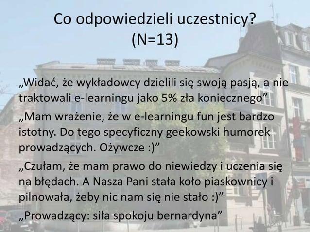 moodle.up.krakow.pl  nf2.moodle.up.krakow.pl 2013 Kursy na platformie: 3 Nauczyciele: 2 Szkolenia: ECKUM UP Zadowolenie z...