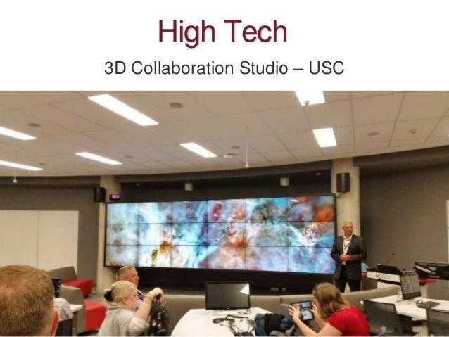 High Tech 3D Collaboration Studio – USC