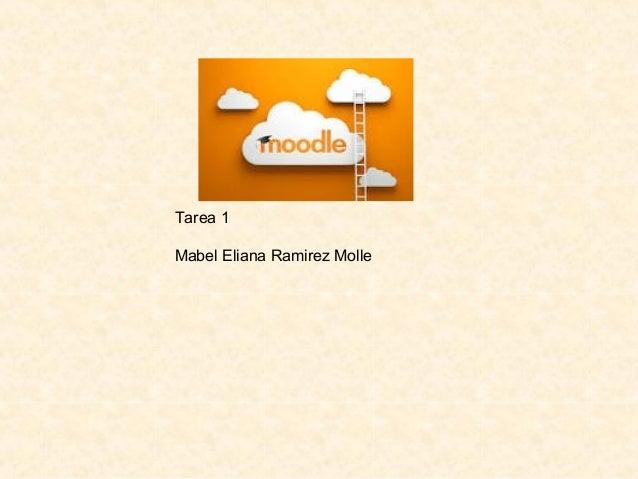 Tarea 1 Mabel Eliana Ramirez Molle