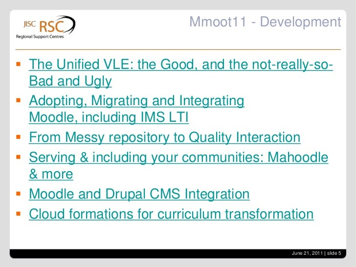 Mmoot11 - Martin Dougiamas<br />Check out Mooch – Moodle hubs<br />Tuning of 2.0 will continue<br />6 monthly releases<br ...