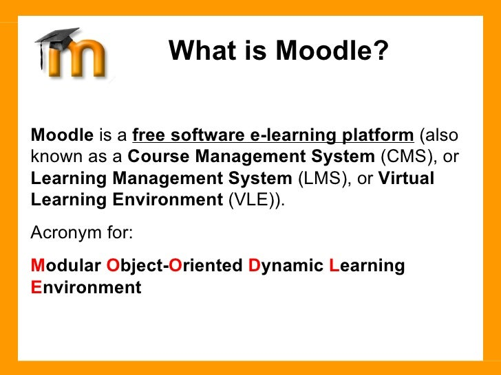 Course Management Systems – Moodle Essay