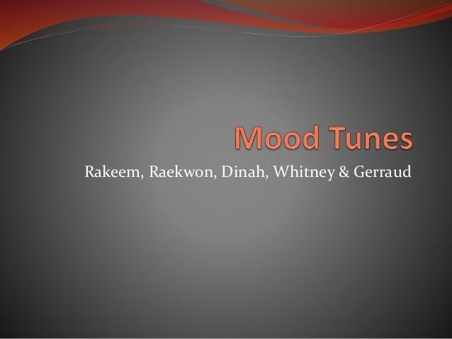 Rakeem, Raekwon, Dinah, Whitney & Gerraud