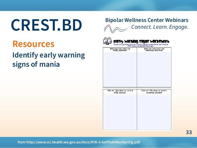 CREST BD Mood & Bipolar Disorder Slides