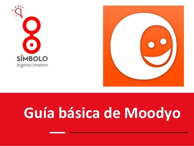 Guía básica de Moodyo