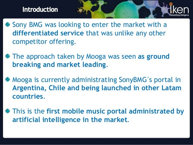 bmg case analysis Case comp/m4404 - universal/bmg music publishing, para 18 and ff  a  control share analysis allows to measuring this combination of.