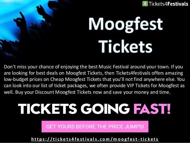 Cheap Moogfest 2019 Tickets and 2019 Lineup Slide 2