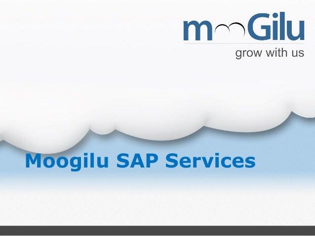 Moogilu SAP Services