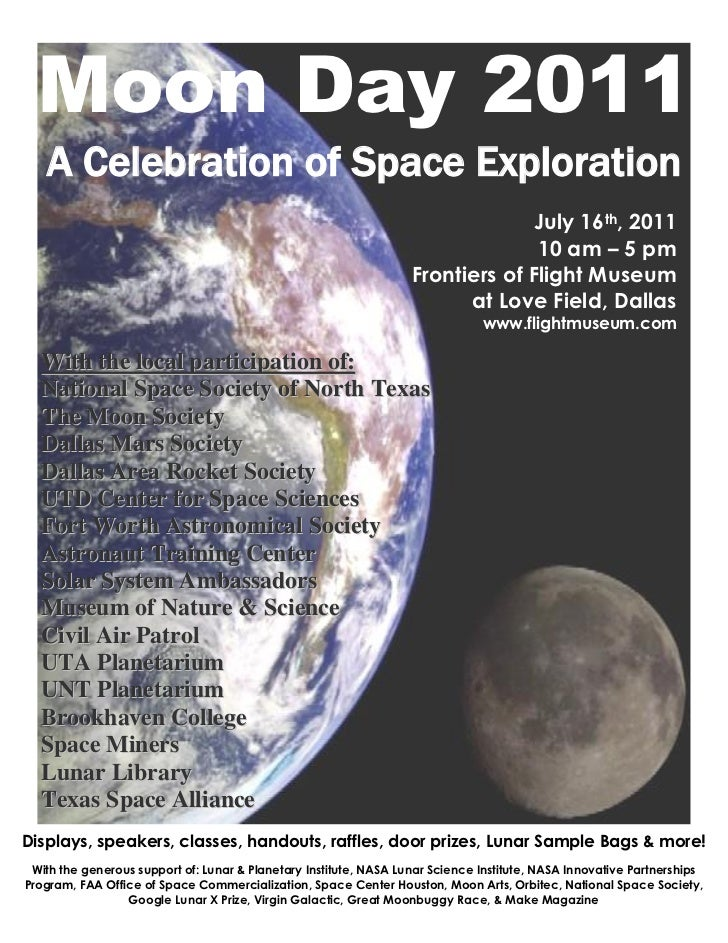 Moon Day 2011   A Celebration of Space Exploration                                                                        ...