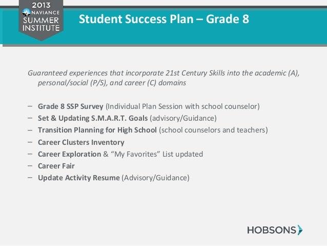 31 Student Success Plan