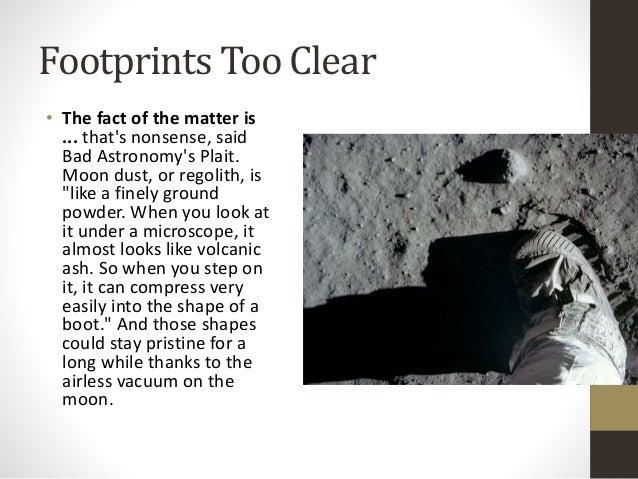 hoax moon landing footprint - photo #8