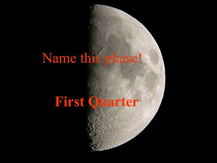 From what direction does    the moon rise?   The East