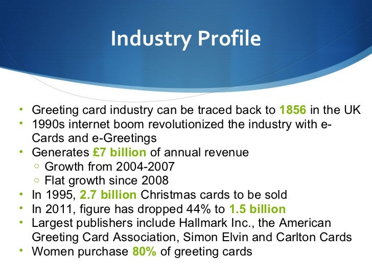 Moonpig presentation industry profile greeting m4hsunfo