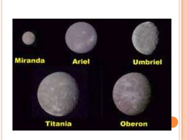 Major Moons of Uranus - Pics about space