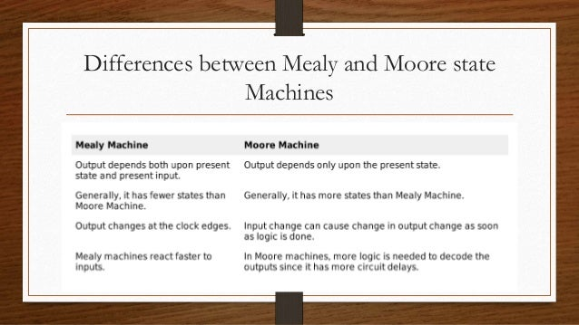 mealy and machine