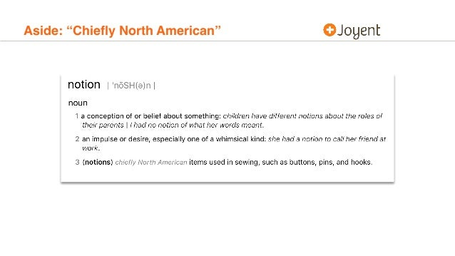 """Aside: """"Chiefly North American"""""""