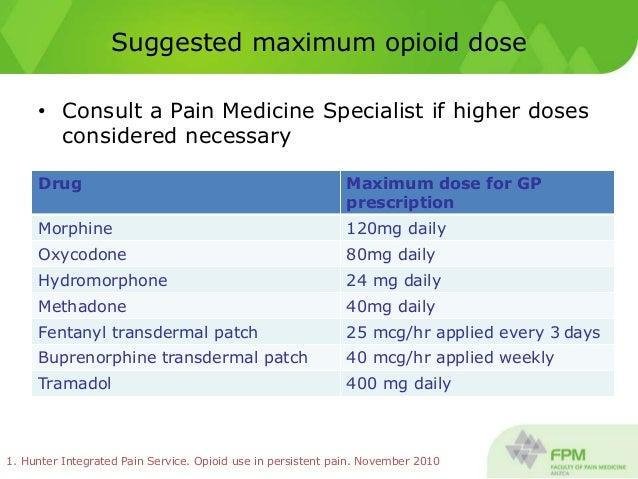 maximum tramadol dosage at one time