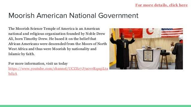 Moorish American Nationality