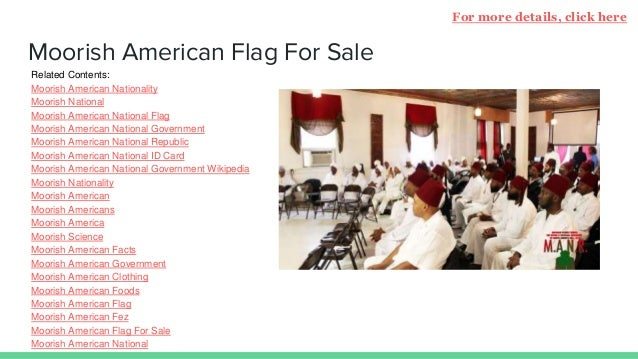 Moorish American Nationality