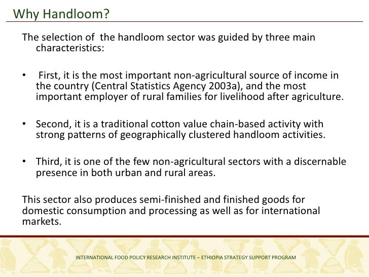Constraints on the Rural Non-farm Economy: An Analysis of the Hand Lo…