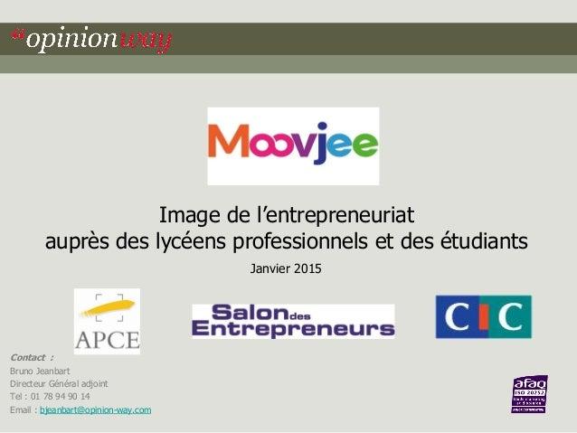 Contact : Bruno Jeanbart Directeur Général adjoint Tel : 01 78 94 90 14 Email : bjeanbart@opinion-way.com Image de l'entre...